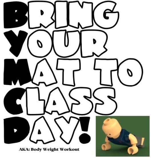 Custom Fitness bodyweight fitness class
