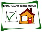 Home Check Service